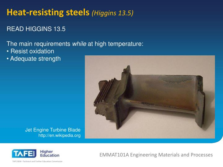 Heat-resisting steels