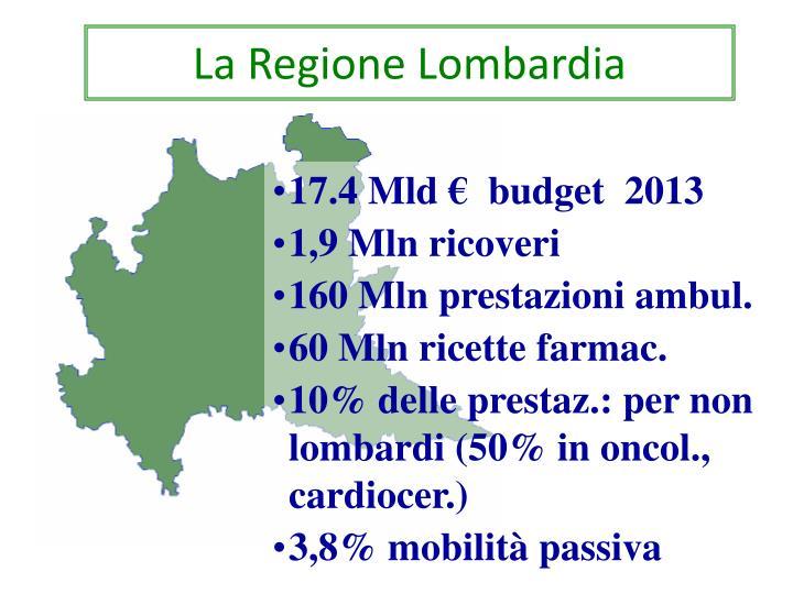 La Regione Lombardia