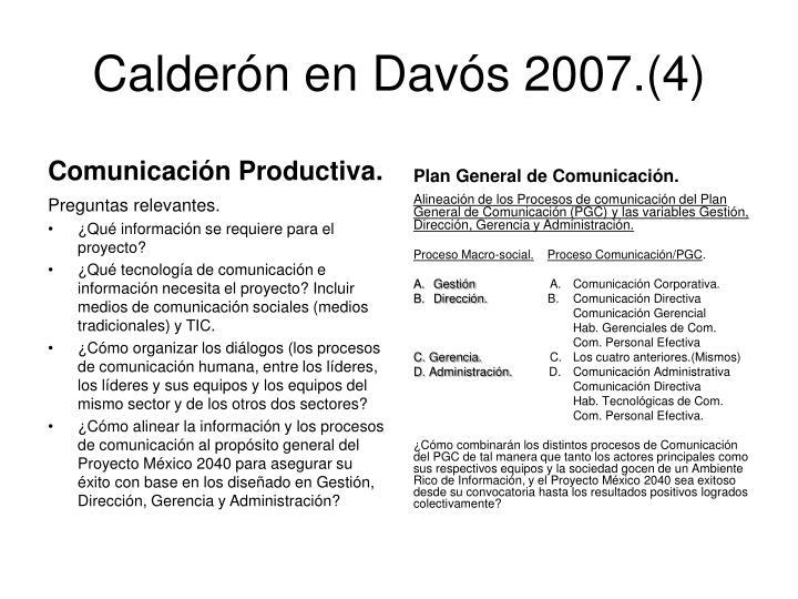 Calderón en
