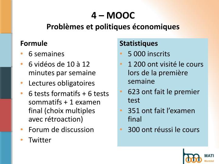 4 – MOOC