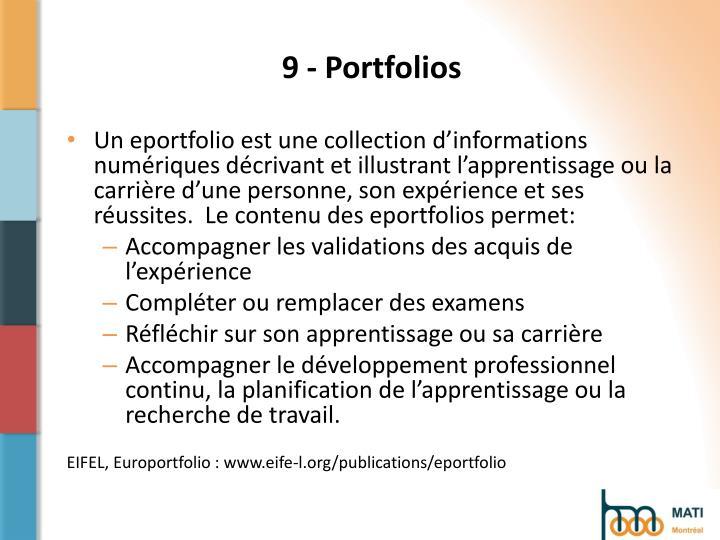 9 - Portfolios