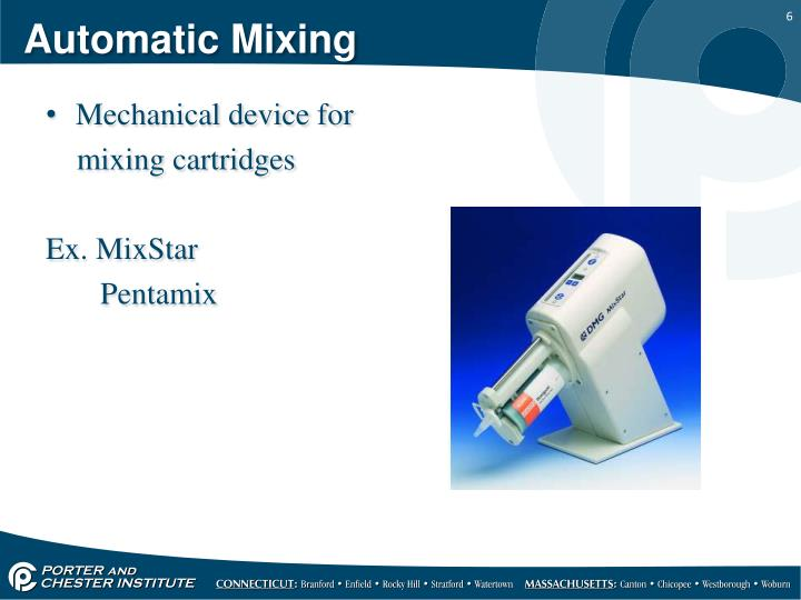 Automatic Mixing