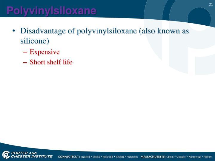 Polyvinylsiloxane