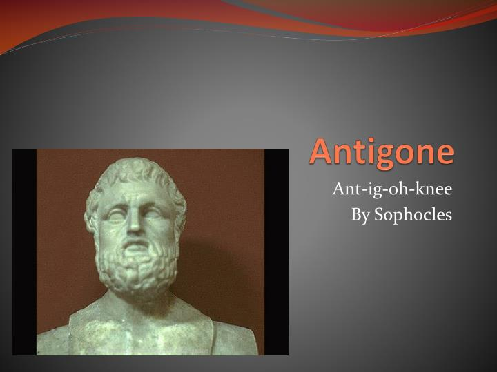 thesis of antigone