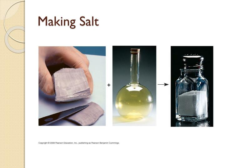 Making Salt
