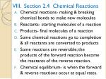 viii section 2 4 chemical reactions
