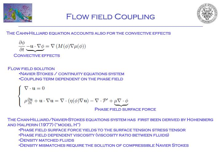 Flow field Coupling