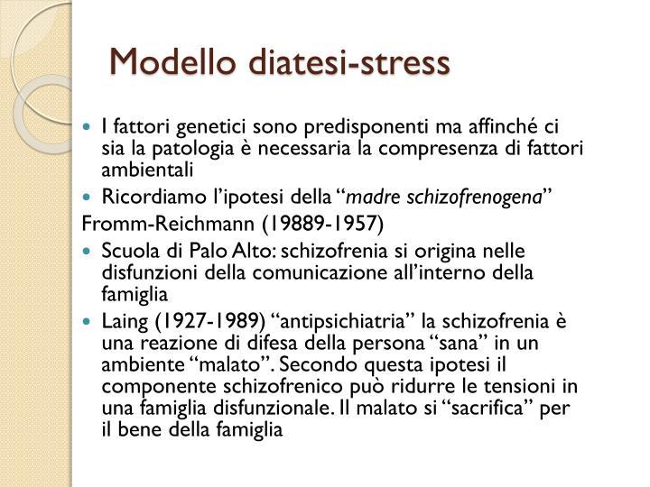 Modello diatesi-stress