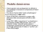 modello diatesi stress