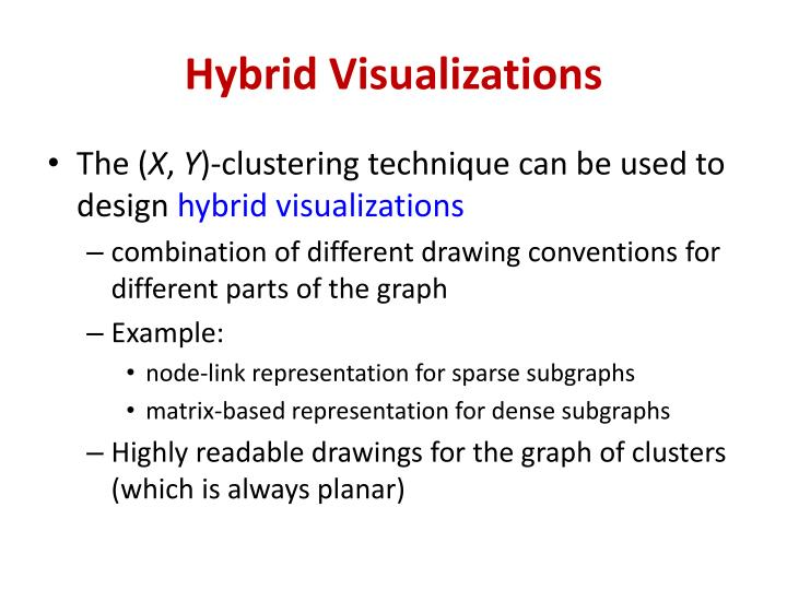 Hybrid Visualizations