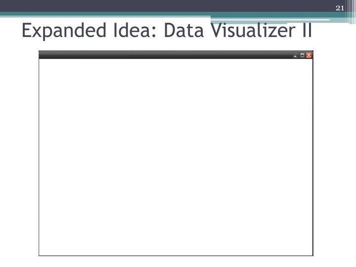 Expanded Idea: Data