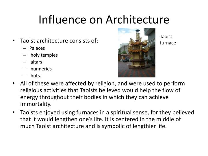 Influence on Architecture