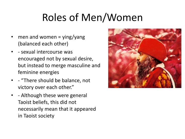 Roles of Men/Women