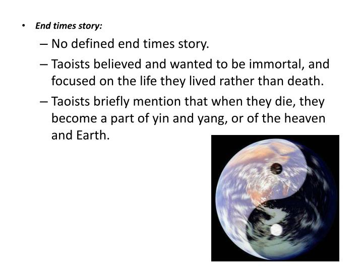 End times story: