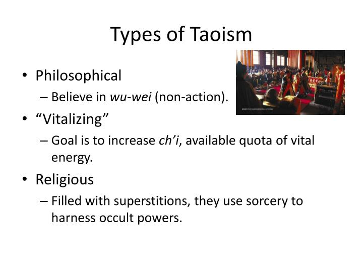 Types of Taoism