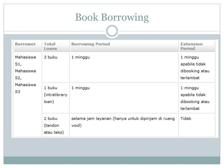 Book Borrowing