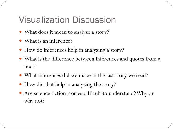 Visualization Discussion