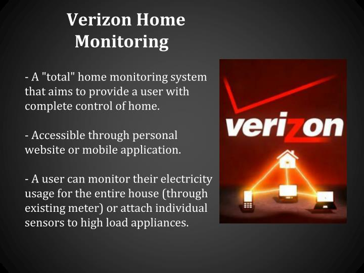 Verizon Home Monitoring