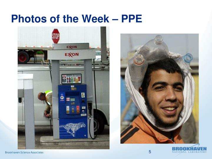 Photos of the Week – PPE