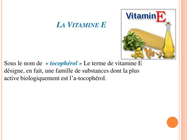 La Vitamine