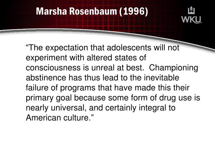 Marsha Rosenbaum (1996)