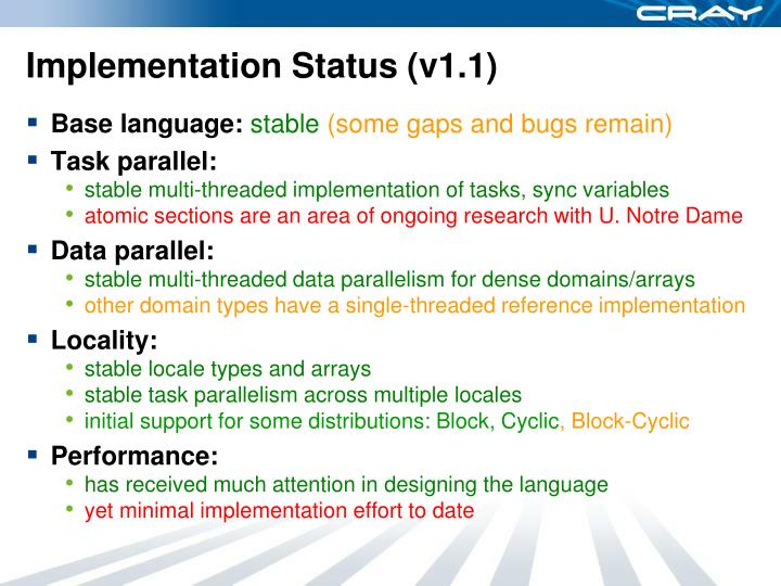 Implementation Status (v1.1)