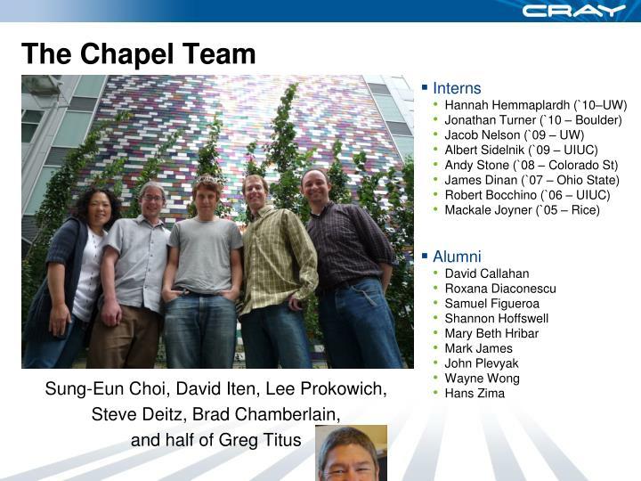 The Chapel Team