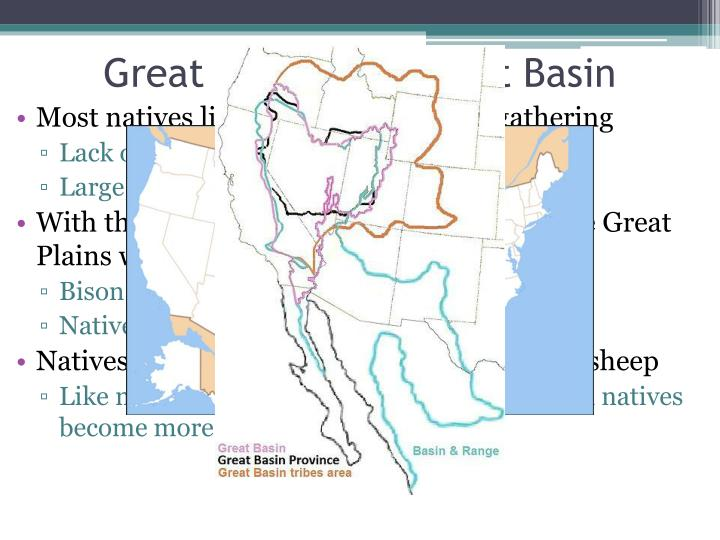 Great Plains and Great Basin