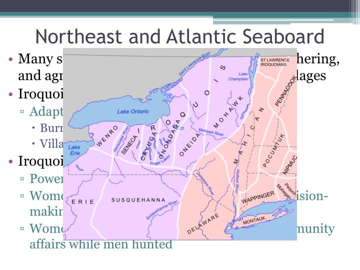 Northeast and Atlantic Seaboard