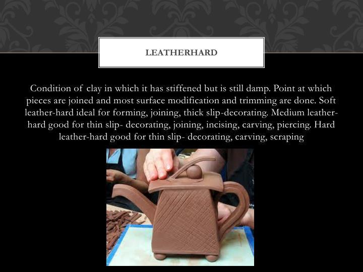 leatherhard