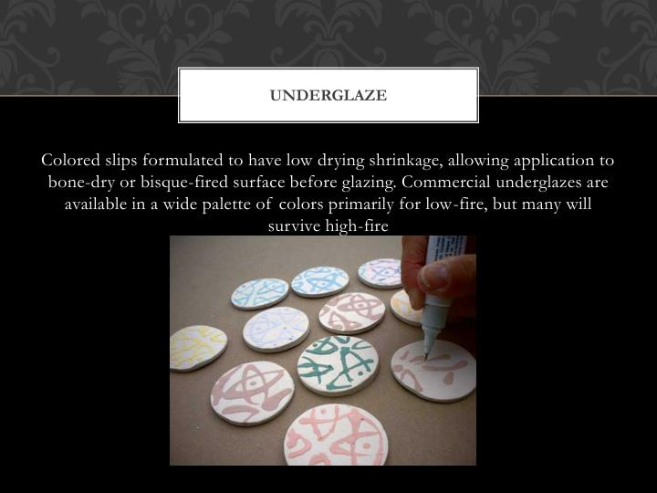 underglaze
