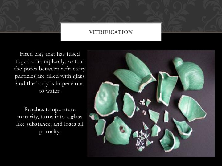 Vitrification