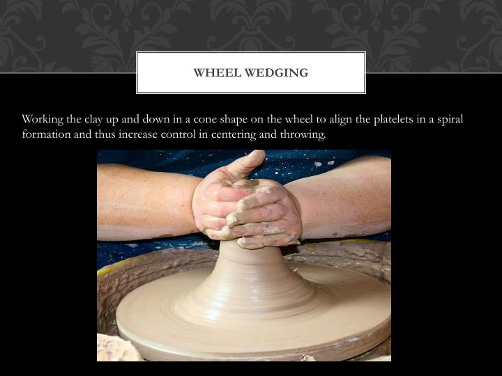 Wheel wedging