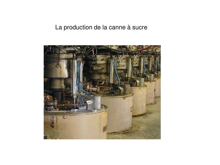 La production de la