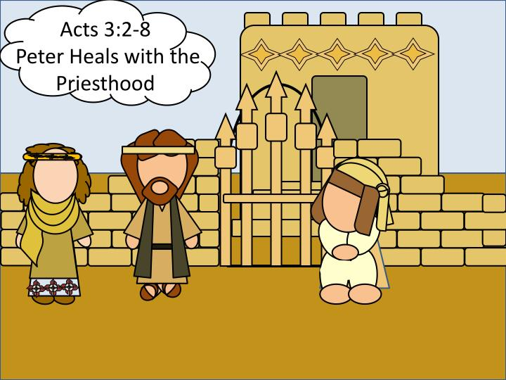 Acts 3:2-8