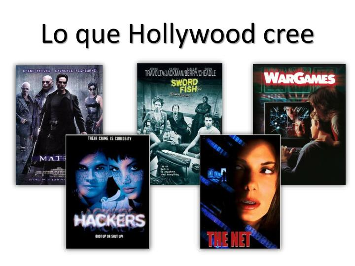 Lo que Hollywood cree