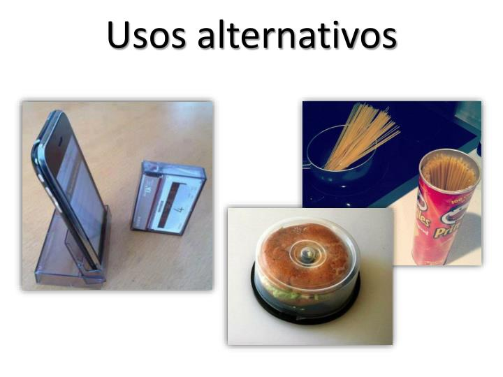 Usos alternativos