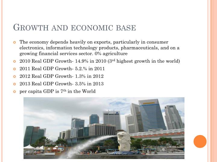 Growth and economic base