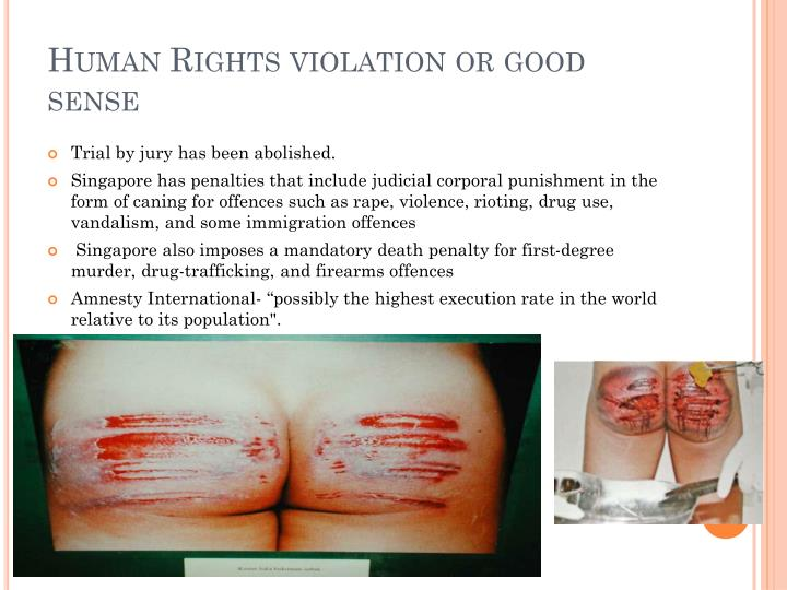 Human Rights violation or good sense
