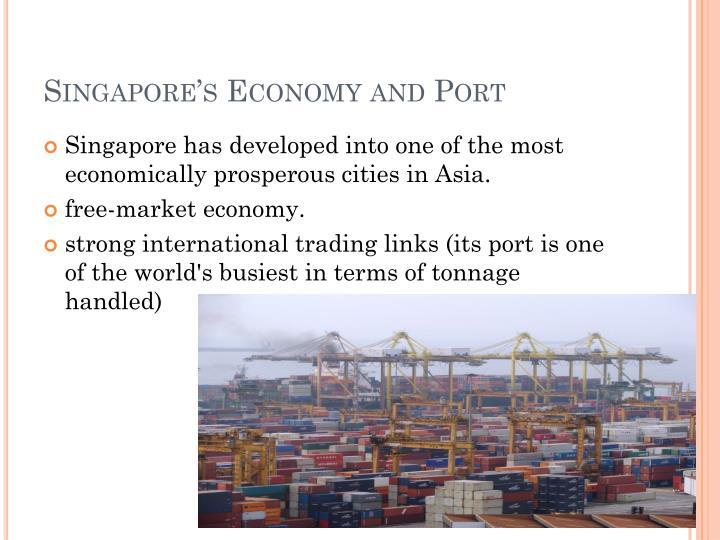 Singapore's Economy and Port