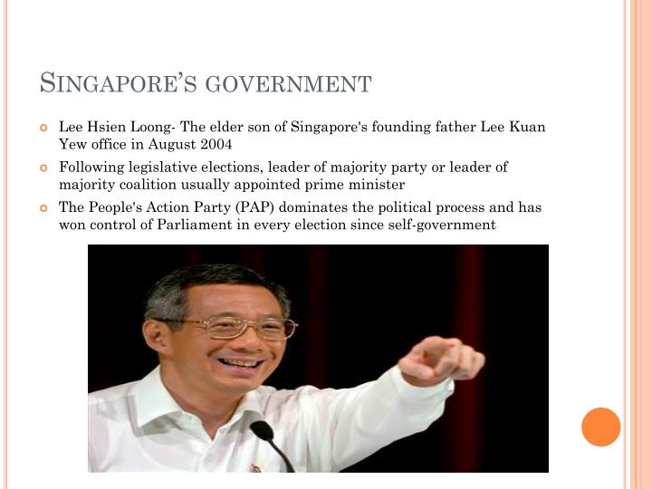 Singapore's government