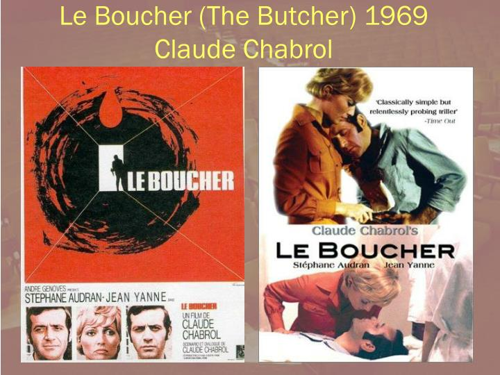 Le boucher the butcher 1969 claude chabrol