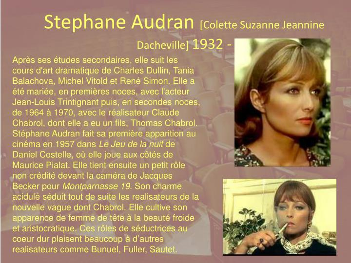 Stephane Audran