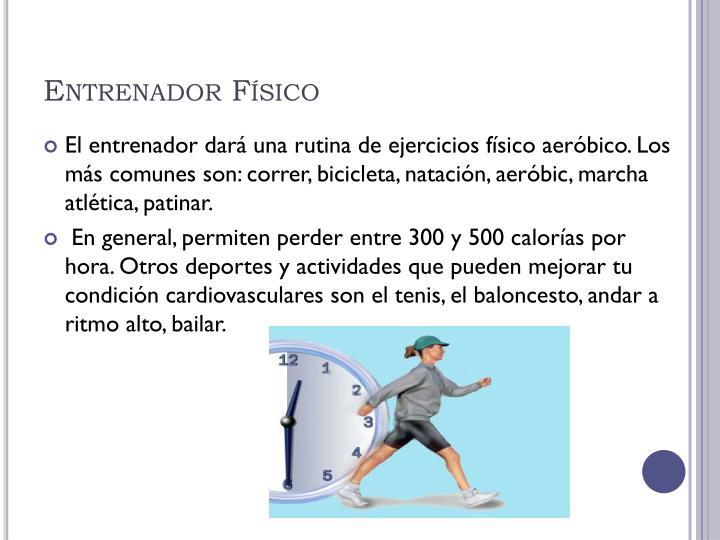 Entrenador Físico