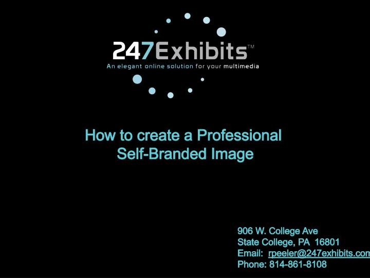How to create a Professional