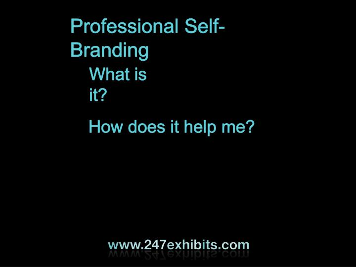 Professional Self-Branding