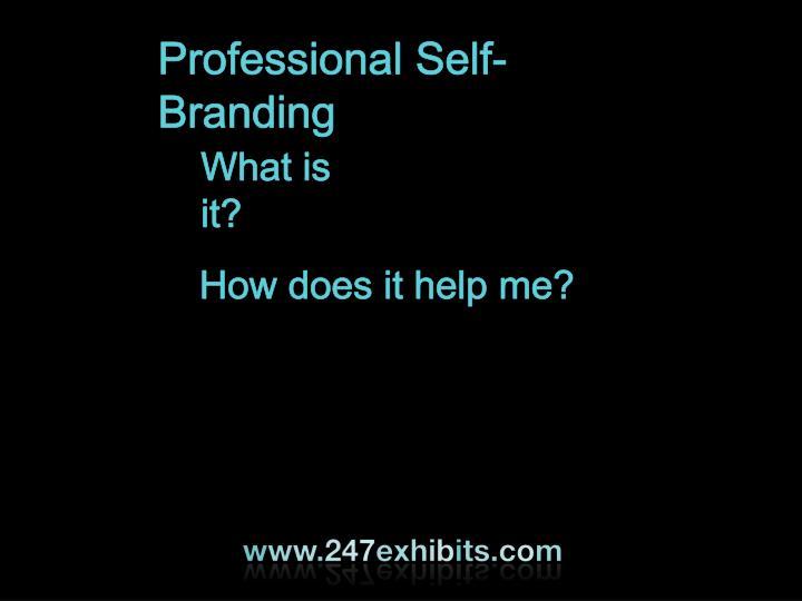 Professional Self-Branding