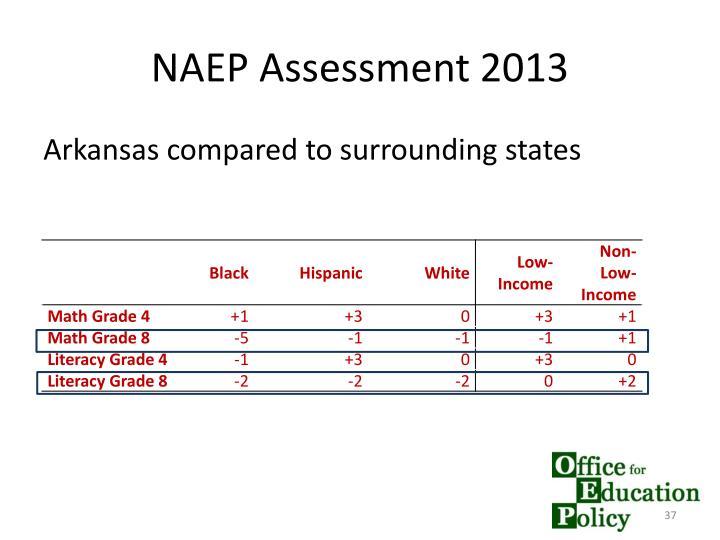 NAEP Assessment 2013