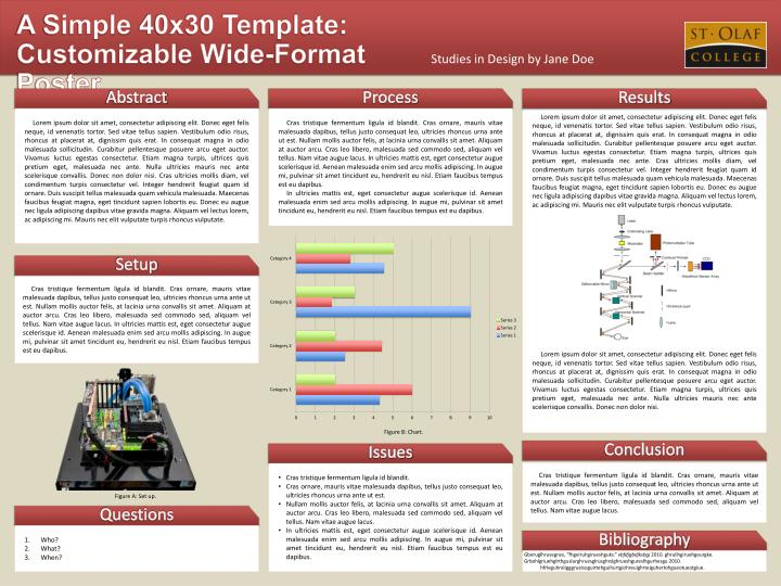 scientific poster template powerpoint