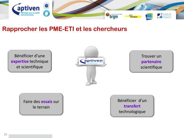 Rapprocher les PME-ETI et les chercheurs